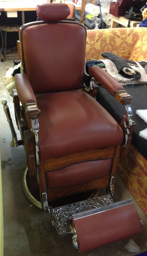 Pacific Furniture Design - Barbers Chair