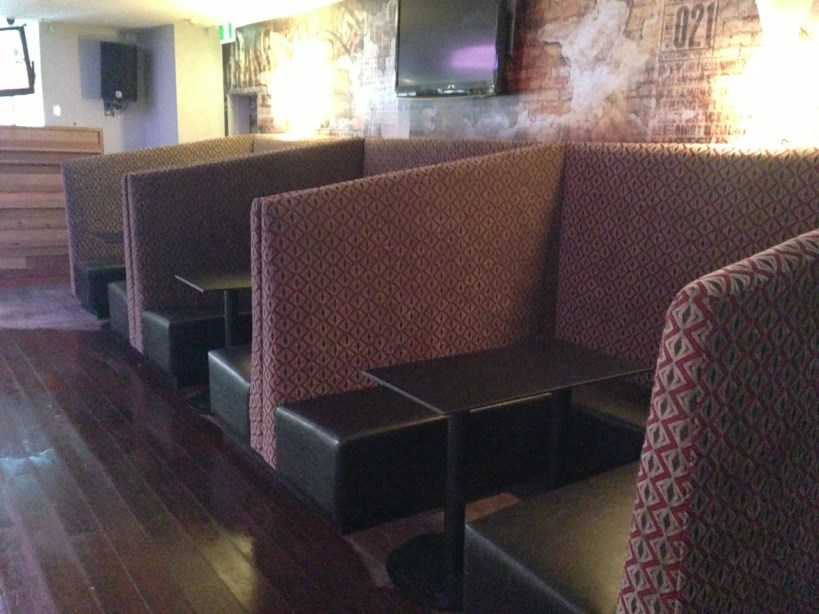 Pacific Furniture Design - Envy Bar Booth Seating