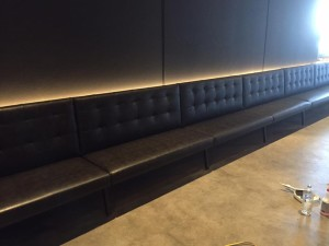 image of booth seating fitout