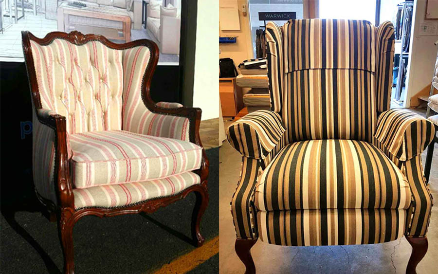 Classic Wing Chair Restoration Projects